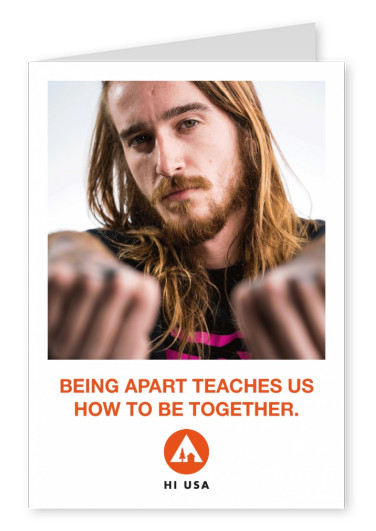 Being apart teaches us how to be together