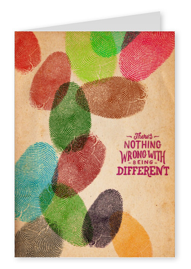 fingerprints quotes postcard mypostcard