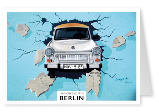 berlin postcard greetings