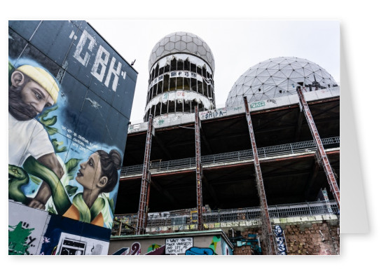 James Graf photo Berlin Teufelsberg