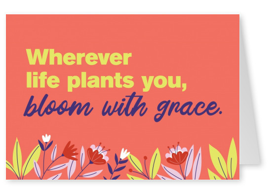 bloom with grace - #iamachampion