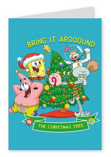 Spongebob - Bring it Around the Christmas tree!
