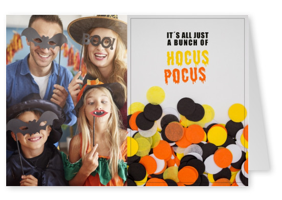 quote card It's just a bunch of hocus pocus