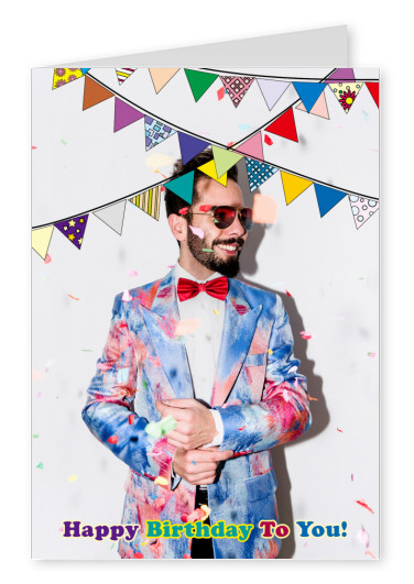 colorate bunting