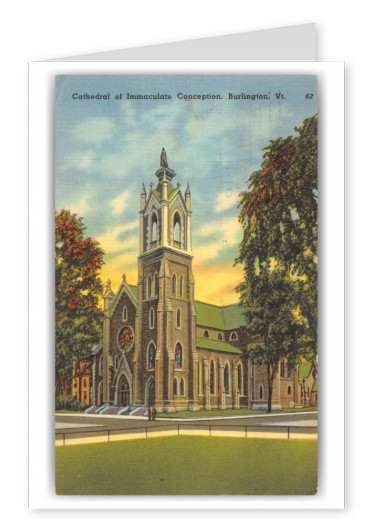 Burlington, Vermont, Cathedral of Immaculate Conception