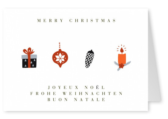 Meridian Design Christmas card