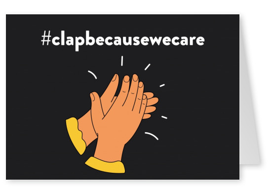 #clapbecausewecare postal
