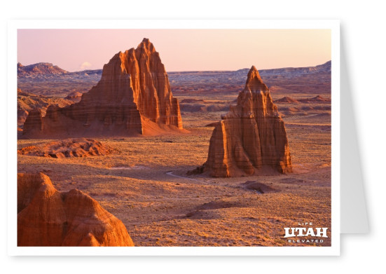 Utah Temples of the Sun and Moon - Cathedral Valley