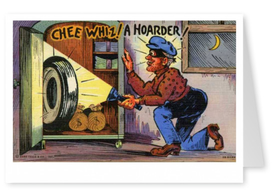 Curt Teich Postcard Archives Collection chee whiz a hoarder
