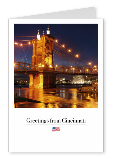 Cincinnati Roebling Suspension Bridge
