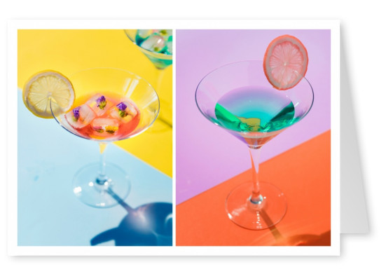 photography pastel colours cocktail drinks