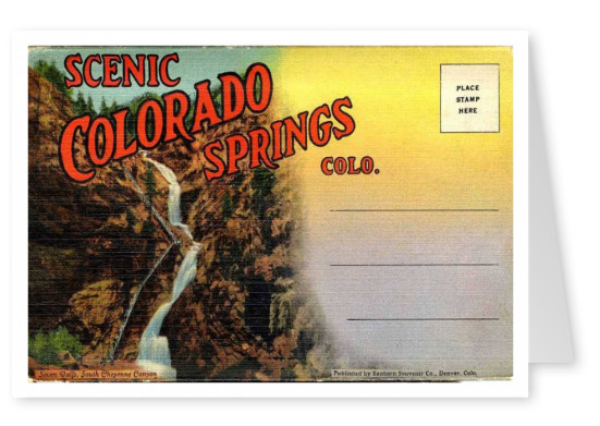 Curt Teich Postcard Archives Collection Colorado Springs