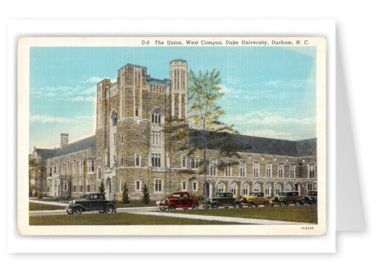 Durham, North Carolina, The Union, West Campus, Duke Univeristy