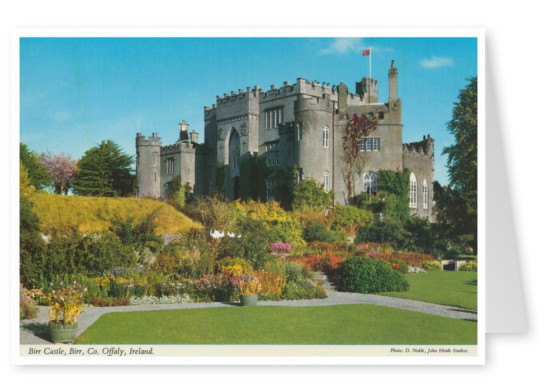 John Hinde photo d'Archive Birr Castle, Offaly, Irlande