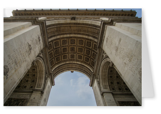 James Graf photo Paris Arc de Triomphe