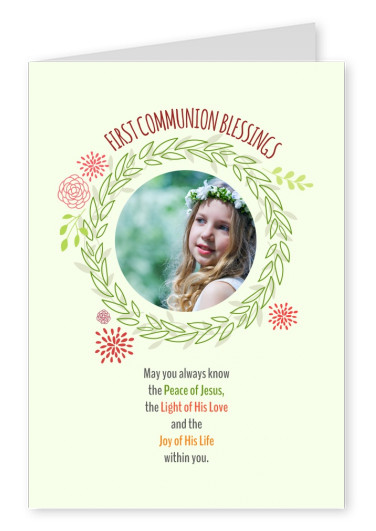 First Communion Blessings