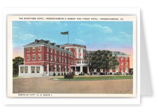 Fredericksburg, Virginia, The Stratford Hotel