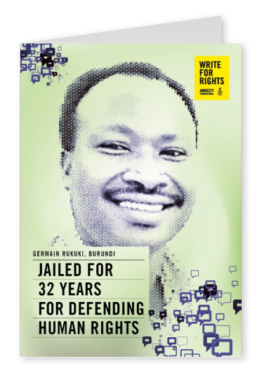 AMNESTY INTERNATIONAL Germain Rukuki, Burundi