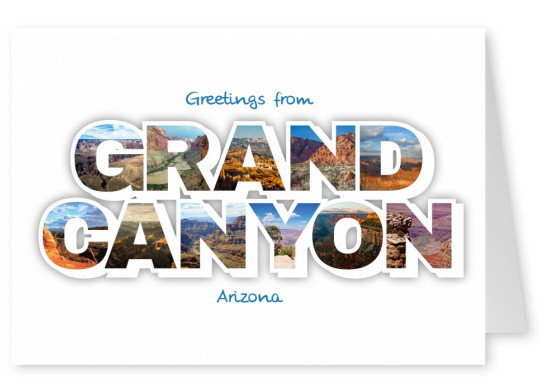 Postcard Grand Canyon