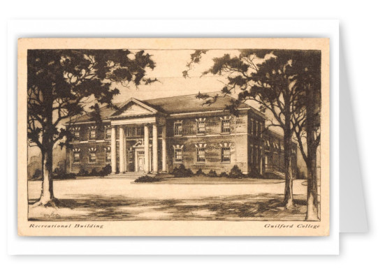 Greensboro, North Carolina, Recreational Building, Guilford College