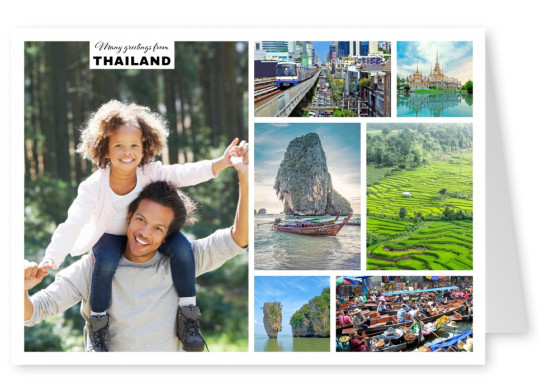 natural sites of Thailand and city life of Bangkok