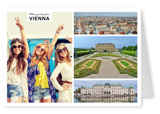 Vienna photocollage