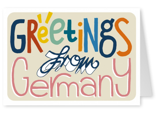 Greetings from Germany