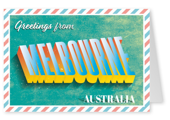 retro greeting card melbourne