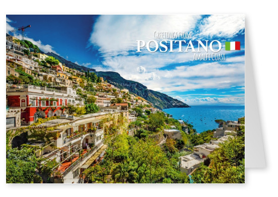 Photo Amalfi coast positano