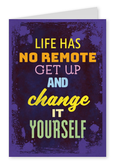 colorful illustration graphic paper grunge quote motivation