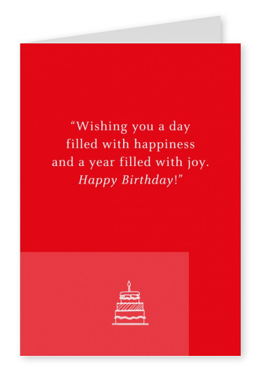 Wishing you a day filles with happiness...