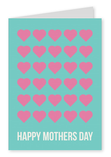 Happy Mothers Day Lots of Hearts