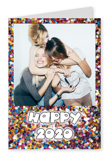 photo colourful glitter confetti background
