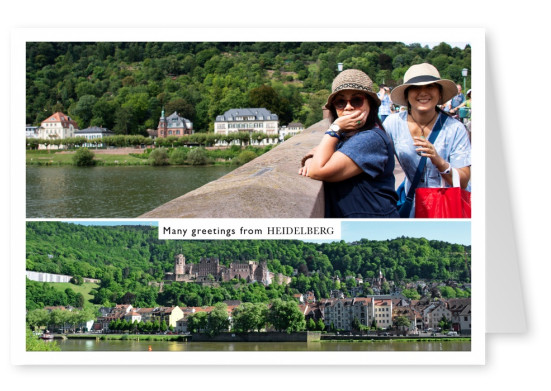 Heidelberg panoramic photo