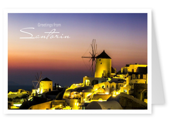 Photo Oia, Santorin