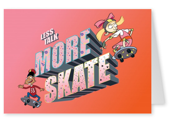 Hey Arnold! - Less talk, more skate