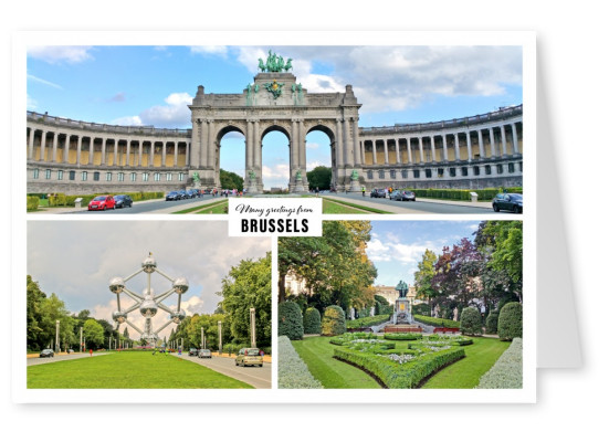 Brussels photocollage