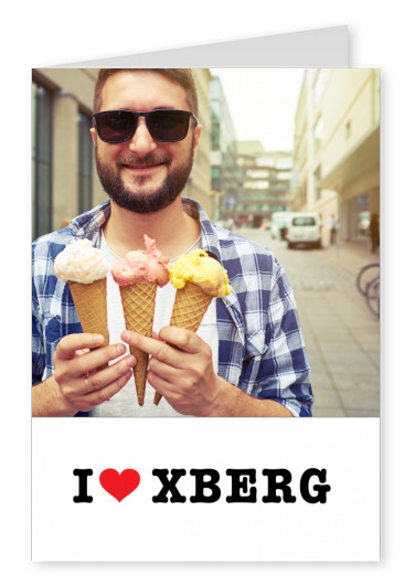 I love Xberg  heart