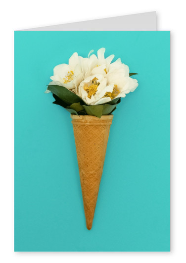 Kubistika ice cream bouquet