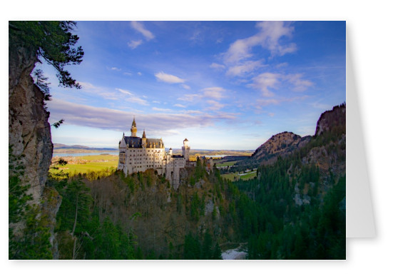 James Graf foto il Castello di Neuschwanstein