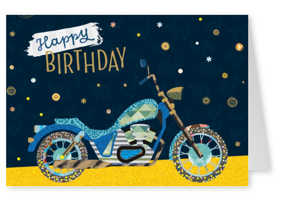 motorcycle birthday pics  Personalized Free Happy Birthday Cards Templates | Printable and ...