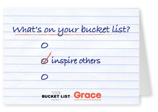 Bucket List Agency inspire others design saying