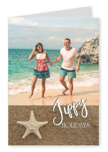 postcard Over-Night-Design Jippy Holidays