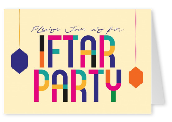 Please join us for Iftar