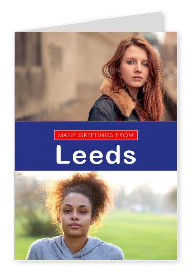 Leeds greetings in English