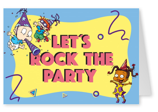 RUGRATS Let's rock the party