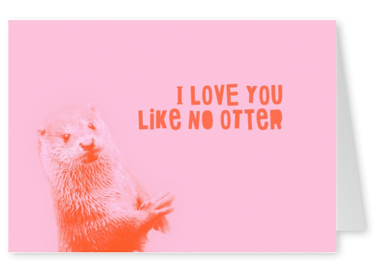 otter says I love you
