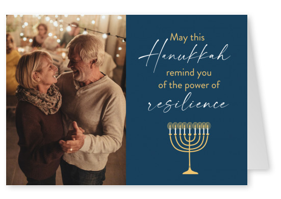May this Hanukkah remind you of the power of resilience