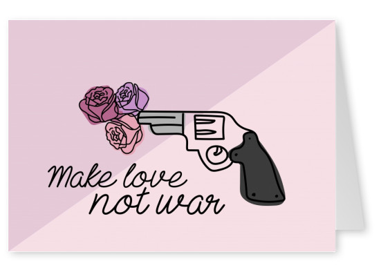make love not war gun
