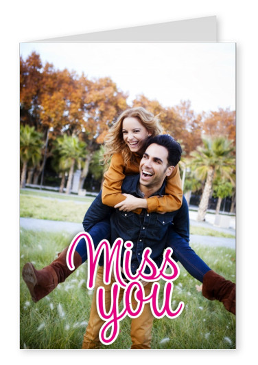 miss you in pink, female lettering with little dots